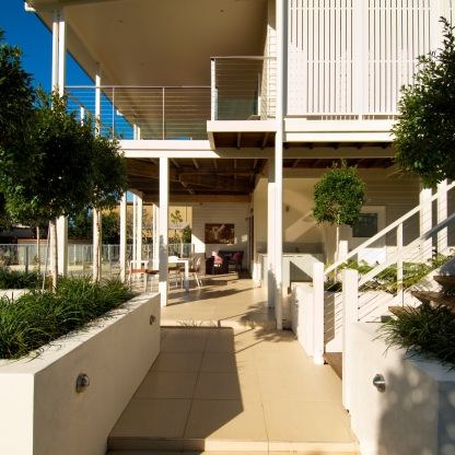 Buderim Renovation 2006 Exterior entry